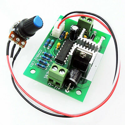 12v-24v 3a Dc Motor Speed Controller Pwm Speed Governor Driver 120w Speed Switch