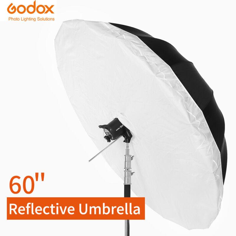 Godox 60 inch  Photographic Silver Black Reflective Umbrella With Diffuser Cover