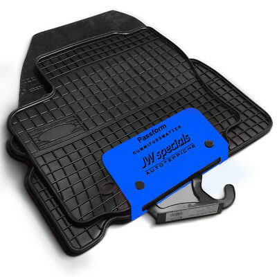 2012-heute 4tlg Gummimatten Gummi-Fußmatten Fiat Punto III 199