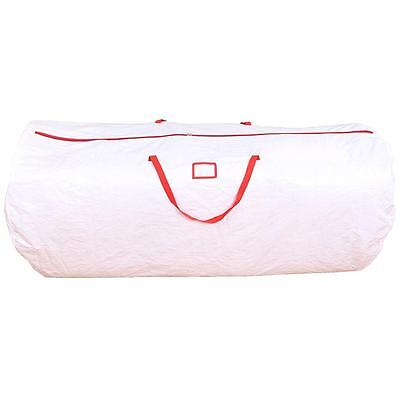 White Ohuhu Christmas Tree Storage Bag For Clean Up Holiday Handles Zipper 9 ft