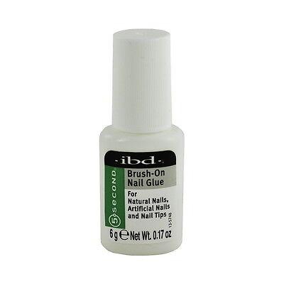 ibd 5 Second Brush-On Nail Glue 5.67g
