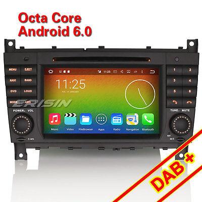 Android 6.0 Mercedes C/CLC/CLK Klasse W203 W209 Autoradio DAB+ GPS OBD SD 6508GD online kaufen