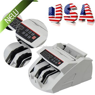 Portable Money Bill Counter Counting Machine Counterfeit Detector Uvmg Cash New