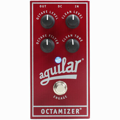 Aguilar Octamizer Analog Octave Divider Boutique Bass Effects Pedal