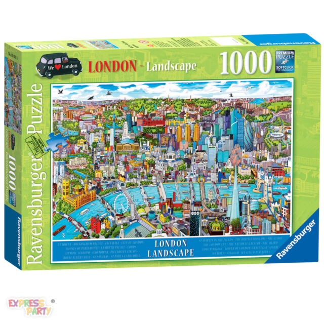 LONDON LANDSCAPE 1000 PIECE RAVENSBURGER JIGSAW