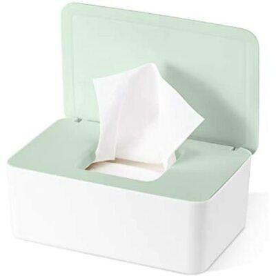 Diaper Wipes Dispenser Baby Case, Holder Keeps Fresh, Non-Slip, Easy Open &
