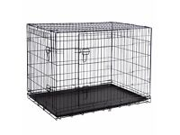 """42"""" XL Dog Crate Silver or Black - Brand New"""