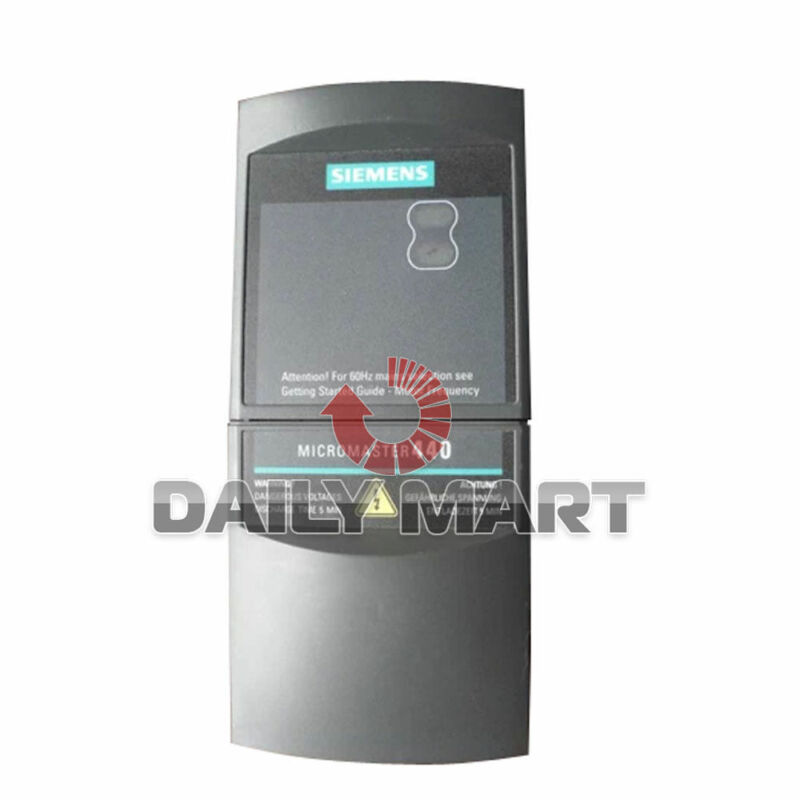 NEW Siemens 6SE6440-2UD17-5AA1 Micromaster 440 w/o Filter PLC 0.75kW