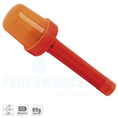 Blinkleuchte Faltleitkegel orange,blau oder rot LED inkl. Batterie Warnwirkung