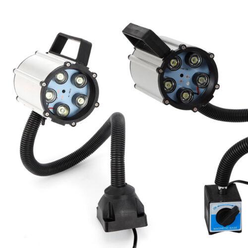 5W LED COB Maschinenlampe CNC Maschinenleuchten Arbeitslampe Magnetische Base DE