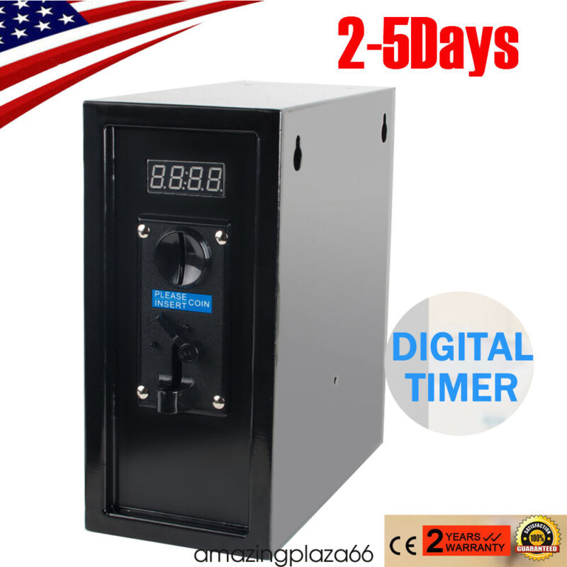 Coin Operated Timer Control Power Supply box to Control electronicl device New