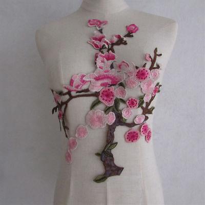 Applikation, Japanische Blume,Aufnäher,Sehr - Japan Tanz Kostüm