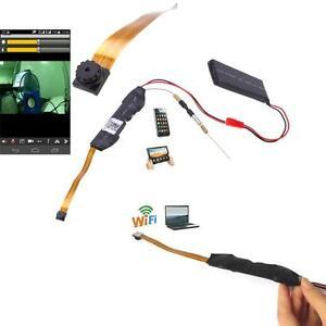 1080P HD P2P IP Wireless WIFI Camera Spy Hidden Video Webcam Module DIY Z6O6