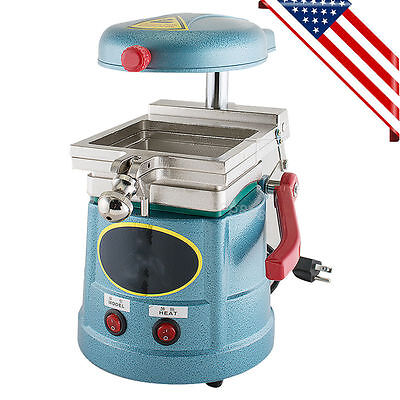 Dental Vacuum Recent Forming Molding Machine Heat Thermoforming Equipment USA