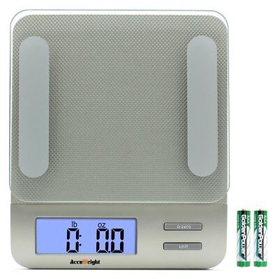 AccuWeight Digital Kitchen Multifunction Food Scale for Cooking with Large