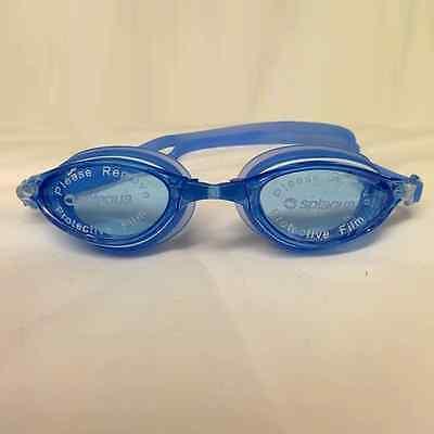 eccbb768469 Splaqua Swim Goggles Crystal Blue and Blue strap