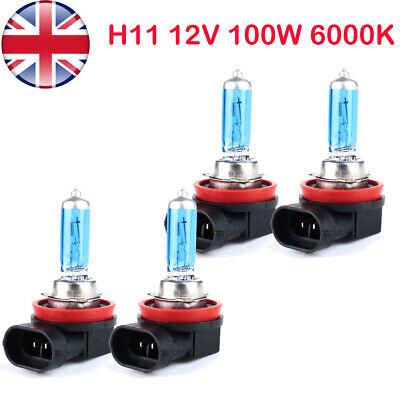 4 H11 711 100w Super Bright White Xenon Headlight Front Fog Drl Bulb Lamp 12v