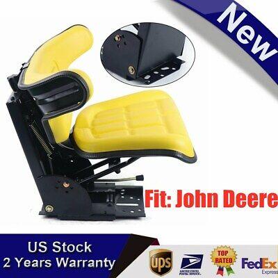 Fits Yellow John Deere 2140 2150 2155 2240 2255 2350 Tractor Suspension Seat