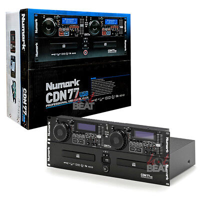 - Numark CDN77USB Professional Dual USB MP3 Rack Mounted CD Player 110-220 V