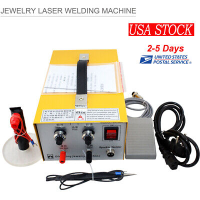 Handheld Pulse Sparkle Laser Spot Welder Jewelry Welding Machine For Gold Silver