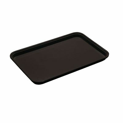 "Cambro Market Display Tray Black Fiberglass - 18""L  x  12""W x  1""H"