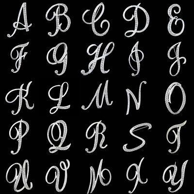 Crystal Alphabet (Women Rhinestone Crystal Alphabet A-Z Broach Brooch Pin Clothes Wedding Jewelry)