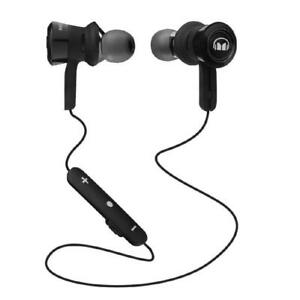 NEW Monster Clarity HD In-Ear Bluetooth Wireless Headphones with ControlTalk Mic, Black -