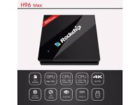 H96 Max Smart Android 6.0 TV Box with Rockchip RK3399 6 Core CPU
