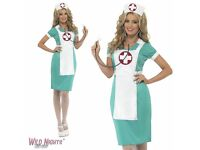 SCRUB NURSE FANCY DRESS OUTFIT GREAT FOR PARTY OR HEN DO SIZE 16/18