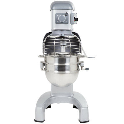Hobart Legacy Hl300 30 Qt. Commercial Planetary Floor Mixer With Accessories -