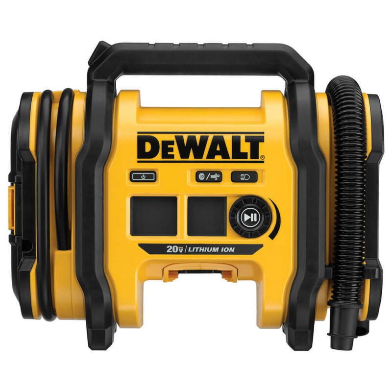 DeWALT DCC020IB 20-Volt High-Pressure Corded/Cordless Air Inflator