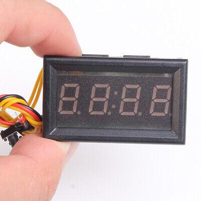 Car Electronic Clock Led Digital Display Clock Stopwatch Timer Power Module