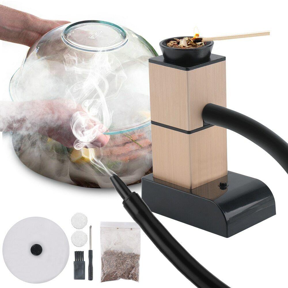 Infusion Smoker Portable BBQ Food Cold Smoke Generator Bar D