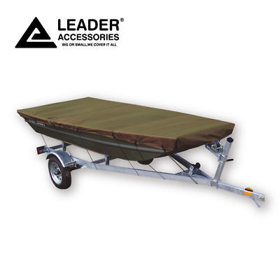Leader Accessories Olive Jon Boat Cover 10'-12'L Beam width to 48''