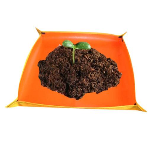GardenGreenhouse Succulent Plants Grow Bag Work Cloth Waterproof PE Pot Mat