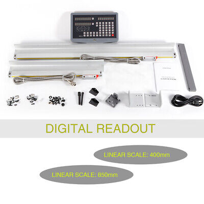 2 Axis Digital Display Readout Dro For Mill Lathe Machine And Two Linear Scale
