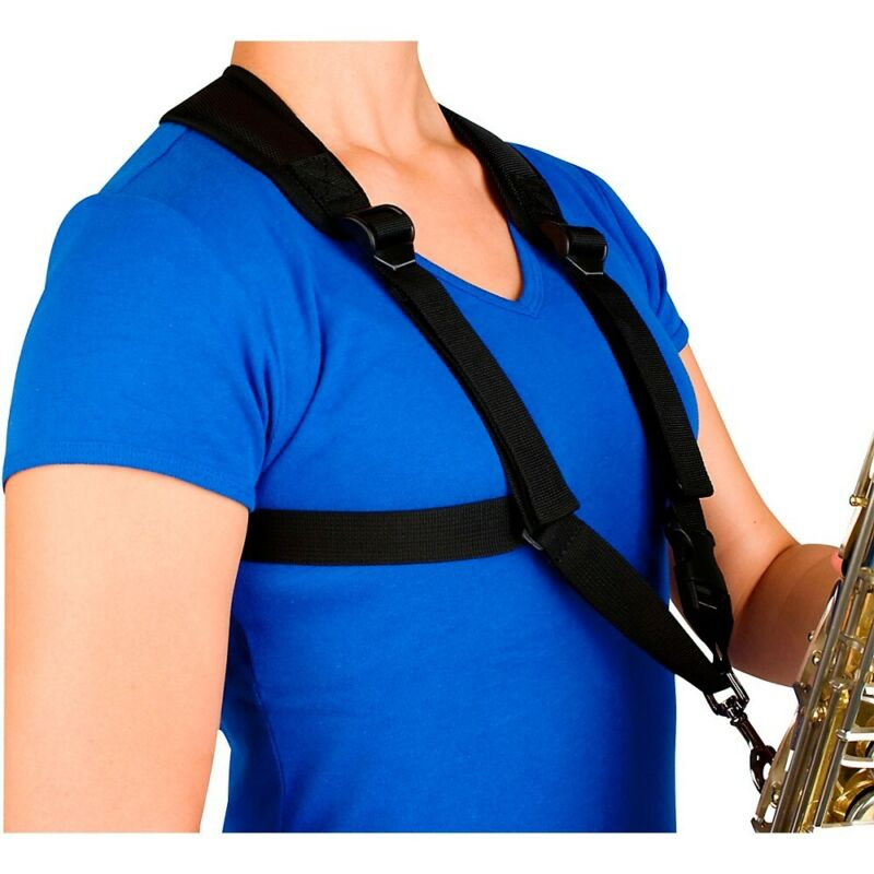 Protec Smaller Padded Harness For Alto / Tenor / Baritone Saxophone Metal Snap