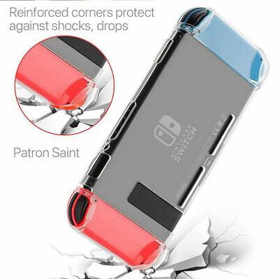 Carcasa Funda Switch Transparente Protector Nintendo Swich ¡ENVÍO GRATIS!
