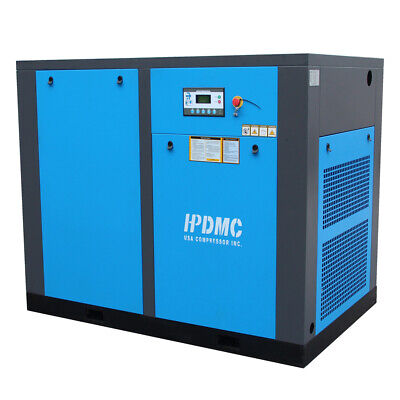 75hp 3-phase Stationary Electric Rotary Screw Air Compressor 230v46060hz 150ps