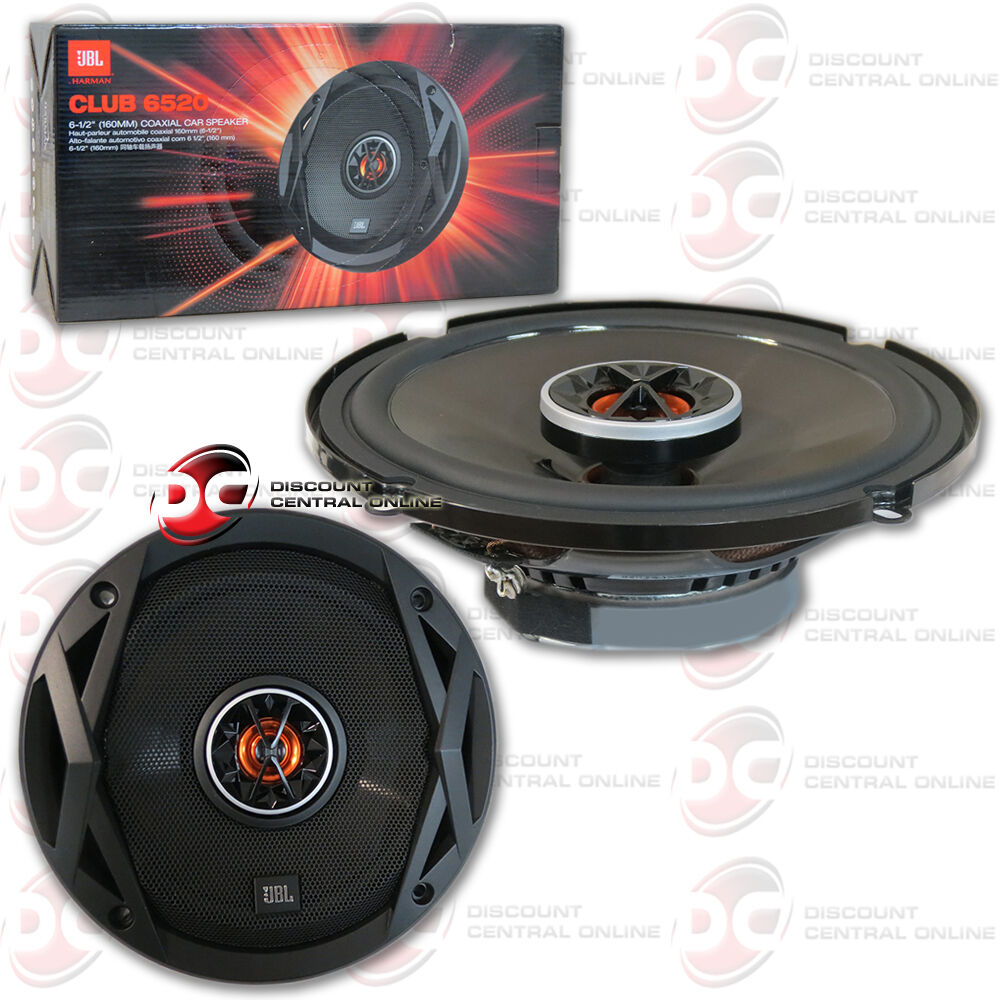JBL CLUB 6520 6-1/2 2-way Coaxial Speaker System