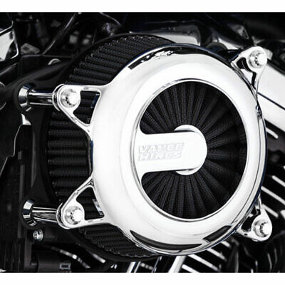 Vance & Hines Chrome VO2 Rogue Air Cleaner Intake 1991-2017 Harley Sportster