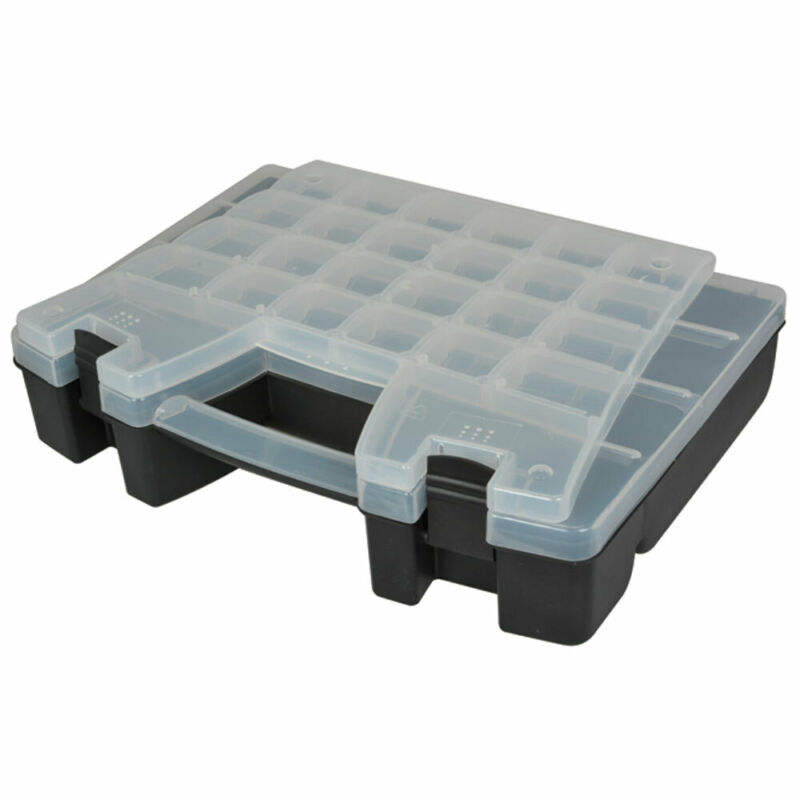 Deluxe Carrying Case with Moveable Dividers