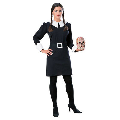 ily Adult Halloween Costume (Addams Family Wednesday Halloween-kostüm)