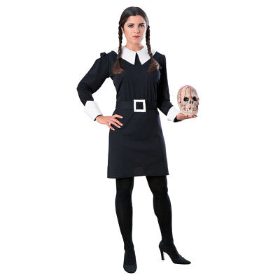 Addams Family Halloween Costumes (Wednesday Addams Family Adult Halloween)