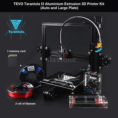 TEVO Tarantula I3 Stoned Precision 3D Printer Kit Auto Leveling w/2 Rolls Filament