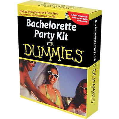 Bachelorette Party Kit for Dummies Games and Ideas Hostess Guide - Ideas For Bachelorette Party