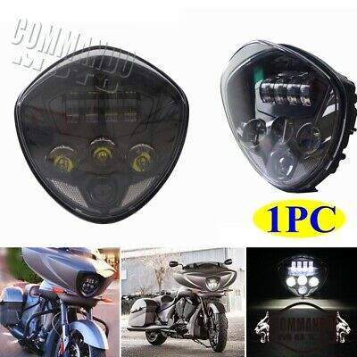 Motorcycle LED Headlight For Victory 2010-2016 Cross Models 2007-2016 Cruisers
