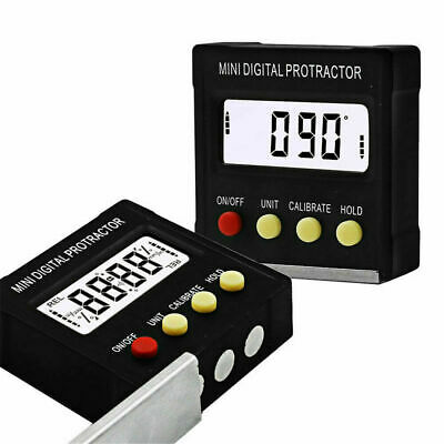 Cube Inclinometer Angle Gauge Meter Digital Protractor Electronic Level Box