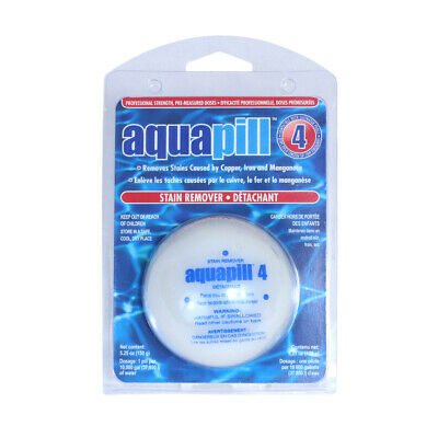 Pool Stain Remover - Aqua Pill Swimming Pool Spa & Hot Tub Stain Remover