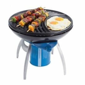 Camping Gaz Party Grill BRAND NEW portable stove BBQ plus gas cylinders